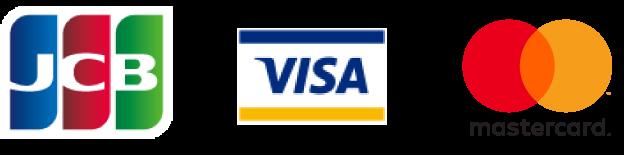 JCB, Visa, Mastercard